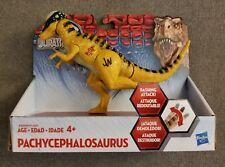 Jurassic World Bashers & Biters Pachycephalosaurus Action Figure Nib