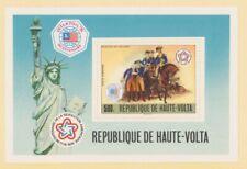 MayfairStamps 1976 Burkina Faso C244 United States Bicentennial Souvenir Sheet M