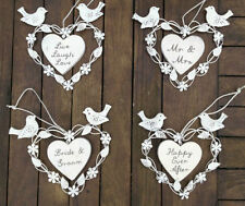 Heart Wedding Decorative Plaques & Signs