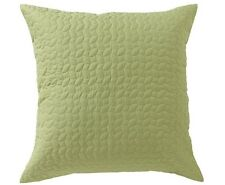 Bianca Vivid Coordinates Herbal Green Quilted European Pillowcase RRP $34.95
