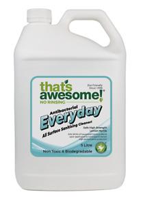 Everyday -Sanitiser Safe Natural Cleaner 5 Litre Australian Made