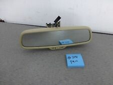 2006-2008 Audi A4 S4 A6 S6 OEM Rear View Mirror Compass + DIM  TAN  #291