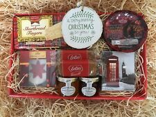 Happy Xmas Special Couple Mum & Dad Tea Cake Pudding Jams Biscuits Gift Hamper