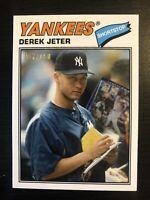 Derek Jeter 2019 Topps Transcendent 1977 Retro  /100  New York Yankees HOF