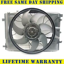 Radiator Cooling Fan Assembly For Mercedes-Benz E350 C300 MB3115122