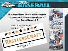 New listing Minnesota Twins 2020 Topps Chrome Jumbo Half Case (4 Box) Live Break #8