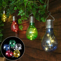 Solar Power LED Light Bulb Lamp Hanging Decoration Durable For Camping Outdoor