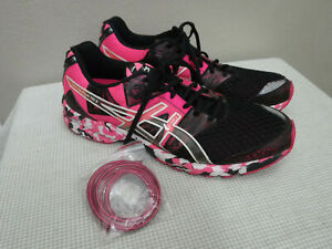 Men's ASICS GEL-NOOSA  TRI 12 46.5 Pink Running Fitness Training Sneakers Shoes