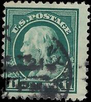 VEGAS - 1917-19 - Sc# 511 11c Franklin - Perf 11 - Used - EX11