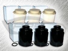 3 F36294XE FUEL FILTERS & 3 GF410 WATER SEPARATORS FOR 13-18 RAM 6.7L DIESEL