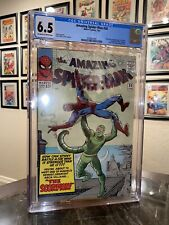 Amazing Spider-Man 20 CGC 6.5 ORIGIN & 1st SCORPION Steve Ditko Stan Lee
