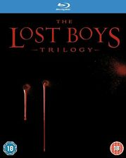 The Lost Boys Trilogy Blu-ray 1987 Region DVD 5051892119313