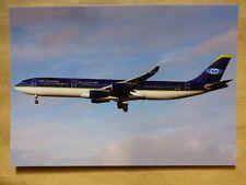 SAFI AIRWAYS    AIRBUS A 340-311  YA-TTB   /  collection vilain N° 1396