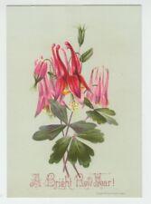 """[B68107] 1880 L. PRANG & CO. HOLIDAY CARD """"A BRIGHT NEW YEAR!"""""""