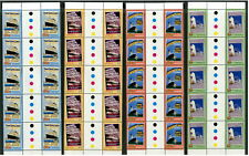 AUSTRALIA - 2004 'BON VOYAGE' Gutter strips of 10 Set of 4 MNH SG2391-94 [B5267]