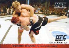 2009 TOPPS UFC ROUND 1 ROOKIE RC YUSHIN OKAMI #50