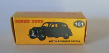 REPRO BOX DINKY n. 161 Austin Somerset Saloon nero e rosso scuro