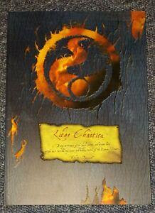 Rare Liber Chaotica Tzeench Warhammer Oldhammer OOP Games Workshop GW NEAR MINT