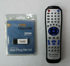 ClearPlay Dvd Player Remote & Filter Stick Usb, Genuine Oem