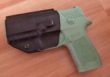 Holster Gun Sig Sauer P320 Custom Black Kydex IWB Right Hand LH OWB