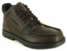 Rockport Chelsea, Ankle 100% Leather Lace Up Shoes for Men