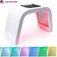 LED Light 7 Color Therapy Skin Rejuvenation PDT Anti-aging Facial Beauty Machine