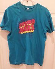 Bruno Mars, Mens Slim-Fit T-Shirt, Turquoise, Optima Cotton Wear, Size Large