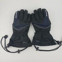 Dakine falcon gloves fleece lines size Large black ski snow riding Men