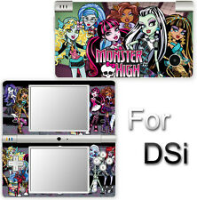 Monster High Popular Cool SKIN DECAL VINYL STICKER COVER #1 for Nintendo DSi
