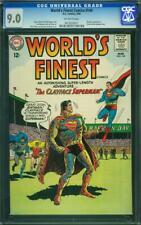 World's Finest Comics 140 CGC 9.0 -- 1964 -- Clayface Superman Top 9 #0910520011