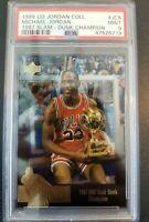 1995 UD Jordan Collection Michael Jordan #JC5 PSA 9 - Chicago Bulls RARE LOW POP