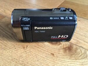 PANASONIC HDC-TM60 16gb HIGH DEFINITION VIDEO CAMERA