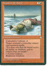 MAGIC THE GATHERING ICE AGE RED BRAND OF ILL OMEN