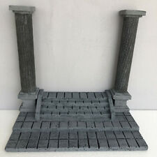 Stairs & Columns Greek Diorama Saint Seiya Model Old Building Home Decoration