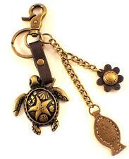 Chala Sea Turtle Marine Life Charming Key Chain Purse Bag Fob Charm