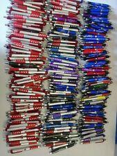 300 Bulk Lot Misprint Mostly Plastic All Fat Barrel Retractable Ink Pens