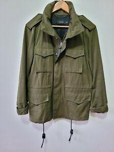 COACH M65 FIELD JACKET Men's Sz44 Olive Green