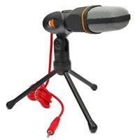 Professional Condenser Sound Podcast Studio Microphone For PC Laptop MSN Skype
