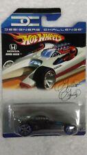 Hot Wheels 2007 Designer's Challenge Honda Racer Black, blue, gray