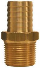"DIXON BN43 1/2 inch Hose Barb X 3/8"" M-NPT - Male Insert Brass Hose Fitting"