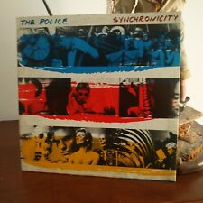 The Police – Synchronicity Lp 1983 Italian issue A&M Records – AMLX 63735
