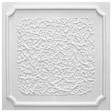 1 Qm Pannelli per Soffitto Decorativi Polistirolo Deckenfliesen 50x50cm antik