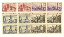 YVERT N° 744 A 747 TIMBRES FRANCE NEUFS sans CHARNIERES