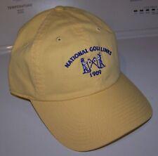 NEW American Needle NGLA NATIONAL GOLF LINKS OF AMERICA Members Cap Hat Yellow