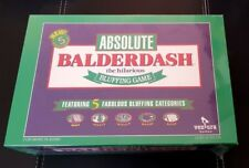 Absolute Balderdash Board Game - NEW/Sealed Rare To Find New!