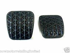 GENUINE VAUXHALL INSIGNIA ASTRA PAIR OF NEW BRAKE / CLUTCH PEDAL RUBBER PADS