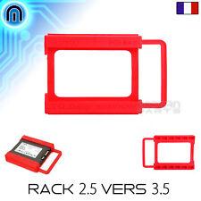 """Support Disque Dur 2.5"""" Baie 3.5"""" Adaptateur SSD HDD Tiroir Rack Chariot Caddie"""