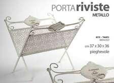 PORTA RIVISTE LIBRI IN METALLO PIEGHEVOLE 37*30*36 CM LE JARDINIER RTE-706851