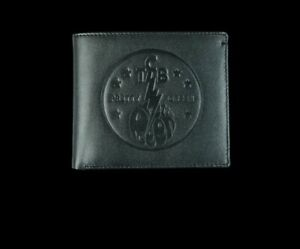 Pretty Green Elvis TCB Wallet Black