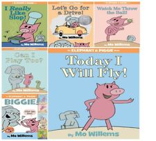 Childrens Book Mo Willems Elephant And Piggie Biggie Bind Up Collection For Kids